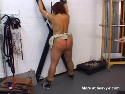 Big Ass Pierced Mom Whipped At The Cross
