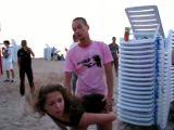 Beach party babe