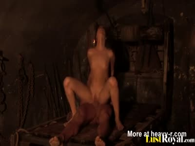 Dungeon Mstress Fucking Her Slave