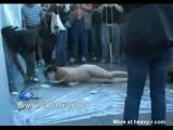 Mentally disturbed girl abused in public