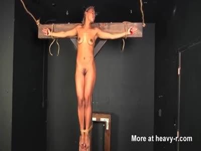Ebony Slut Killed By Crucifixion