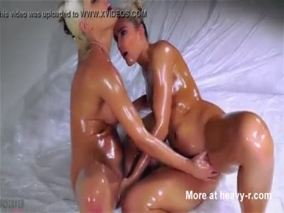 Slippery Lesbians Fingering And Fucking