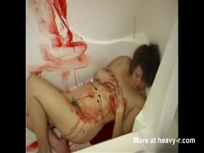 Bloody Showering