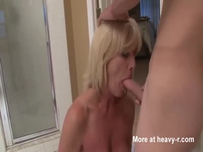 Mommy Sucking Young Cock