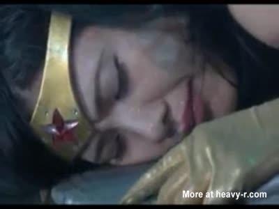 Wonder Woman Rino Mizuki Defeated