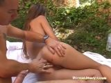 First Anal Outdoors