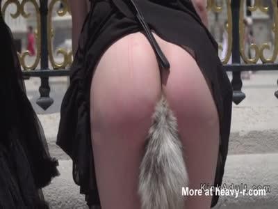 Black thong pussy