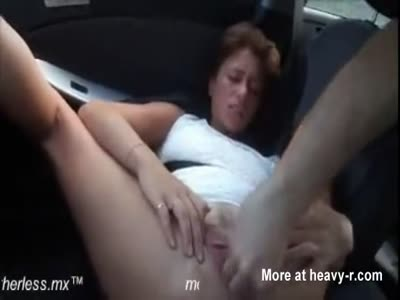 Fisting In Car