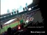 Flaming Suicide Jumper At Concert