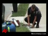 Firefighter Resuscitates Cat