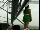 Chinese Girl Jumps To Her Death