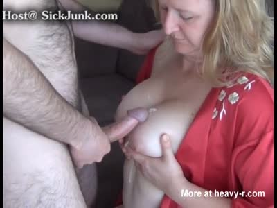 Mom Makes Boy From Next Door Cum