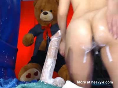 Fun With A Squirting Dildo