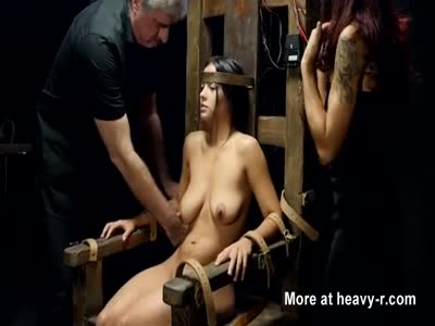 Pussy punished emily sharpe in extreme bdsm and suffering slaveslut nipple