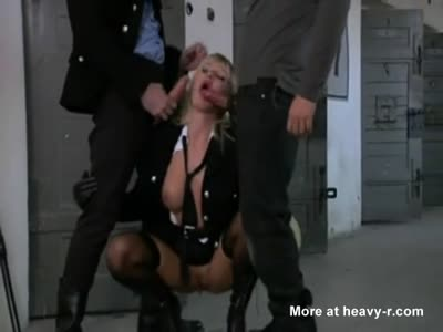 Kinky Blonde Prison Punishment