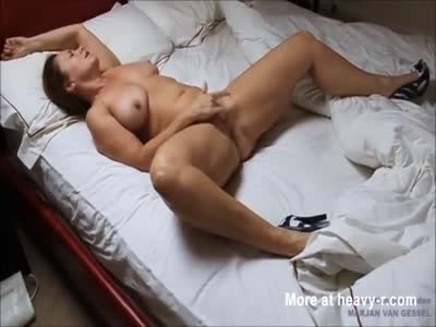 Horny MILF Masturbating