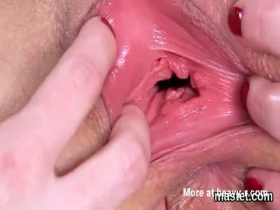Nude female getting banged