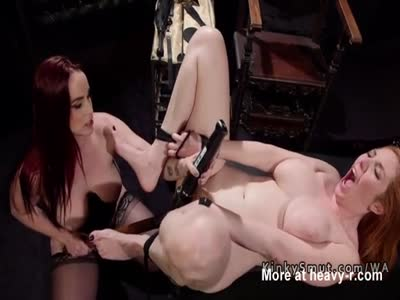 Sub Gets Whipped And Toyed By Femdom