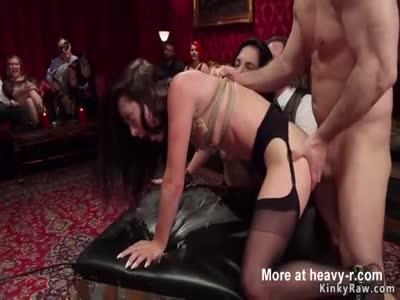 Tattooed sluts anal bdsm fucked orgy