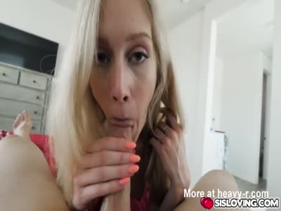 Hot pornstar casting with cumshot