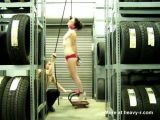 Girl gets off on being hung