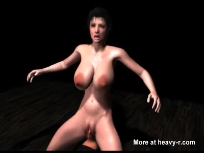 Animated Hooker Dildo Riding