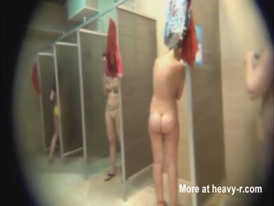 Girls In Public Shower