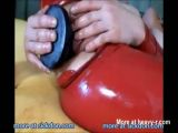Big Dildo Insertion