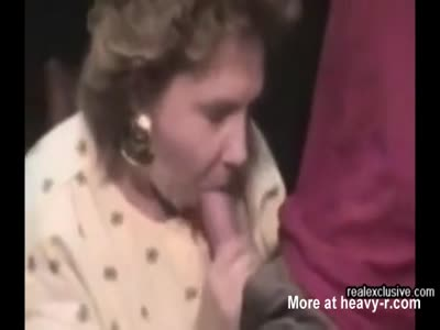 Cougar Enjoys Student's Cock