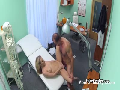 Costumed Doctor Fucks Married Blonde