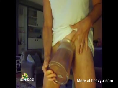 Pumped Silicone Cock In A Jar