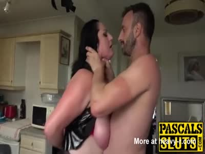 Rough Sex For Chubby Brunette