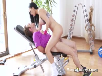 Busty Fitgirl Fucking Trainer