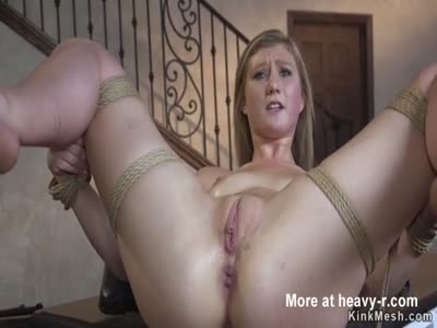 Blonde Sub Anal Fucked And Facial Cumshot