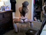 Hot dance on webcam