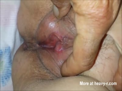 60YO Granny's Pussy Up Close