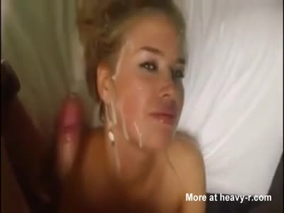 Cumshot On Russian Face