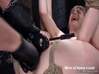 Hard Times For Gagged Slut