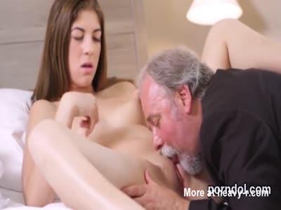 Teacher Licks Schoolgirl Pussy