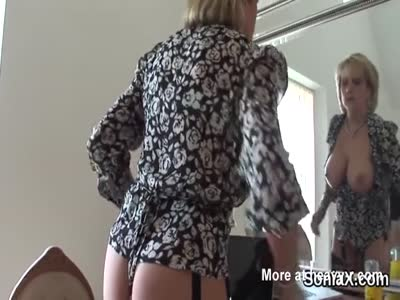 Unfaithful english mature lady sonia pops out her big boobs