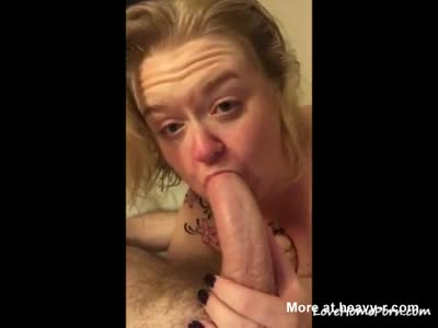 Deepthroating Huge Dick