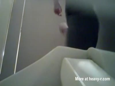 Hidden Camera On Toilet
