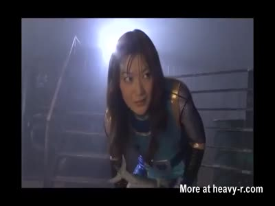Asian Superheroine In Peril