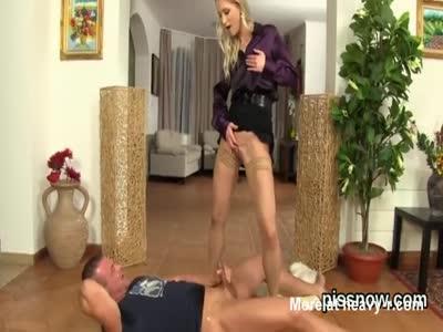 Golden Shower By Sexy Leggy Babe