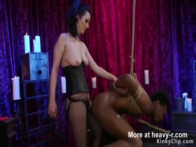 Mistress Anal Bangs Black Dude