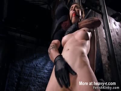 Brutal Hogtie With Anal Hook
