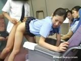 Japanese Stewardess Porn Training