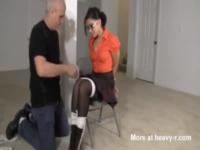 Nerd Begs For Bondage