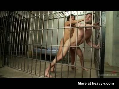 Tranny Domme Jizzed On Me in Jail!