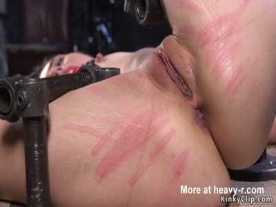 Pussy Caning In Bondage